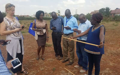 A Creative Collaboration for Developing LandPKS Trainings