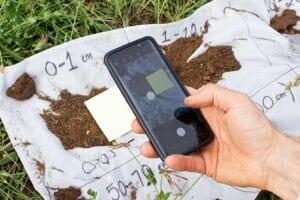 Soil color measurement