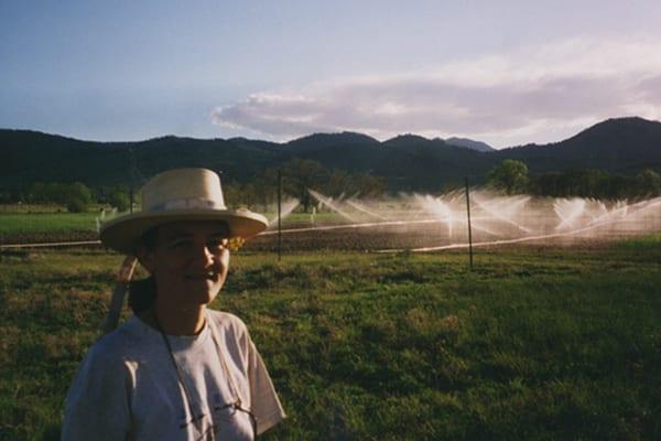 Irrigating a farm