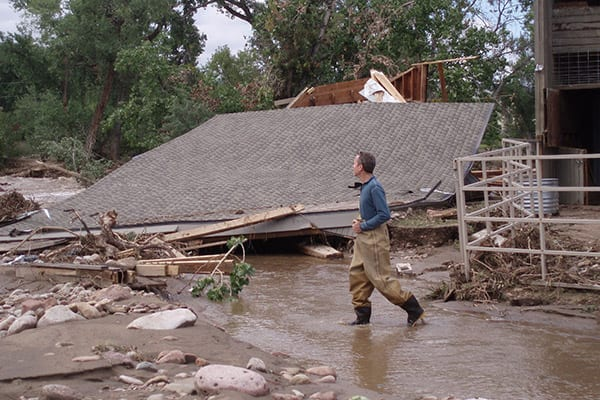 Evaluating the flood damage