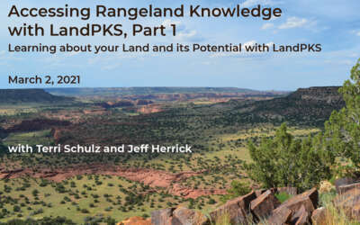 Accessing Rangeland Knowledge with LandPKS